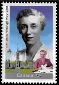 Stamp for the Right Honourable Ellen Fairclough